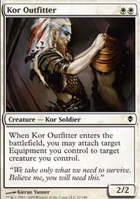 Kor Outfitter - Zendikar