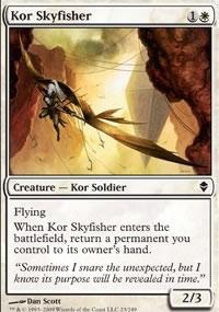 Kor Skyfisher - Zendikar