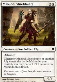 Makindi Shieldmate - Zendikar