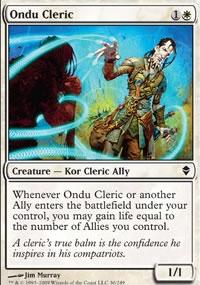Ondu Cleric - Zendikar