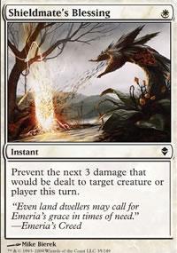 Shieldmate's Blessing - Zendikar
