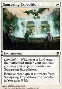 Sunspring Expedition - Zendikar