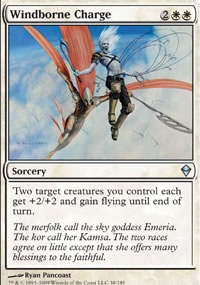 Windborne Charge - Zendikar