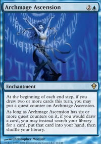 Archmage Ascension - Zendikar