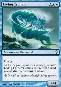 Living Tsunami - Zendikar