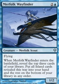Merfolk Wayfinder - Zendikar