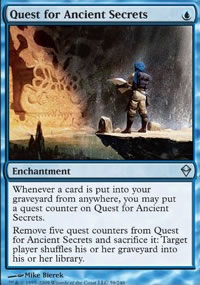 Quest for Ancient Secrets - Zendikar