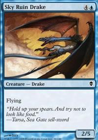 Sky Ruin Drake - Zendikar