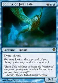 Sphinx of Jwar Isle - Zendikar
