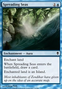 Spreading Seas - Zendikar