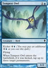 Tempest Owl - Zendikar