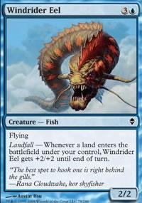 Windrider Eel - Zendikar