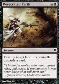 Desecrated Earth - Zendikar