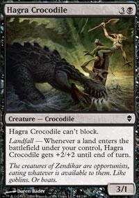 Hagra Crocodile - Zendikar