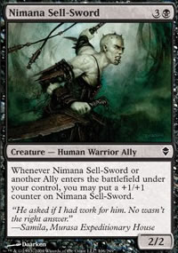 Nimana Sell-Sword - Zendikar