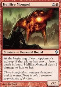 Hellfire Mongrel - Zendikar