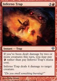 Inferno Trap - Zendikar