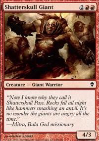 Shatterskull Giant - Zendikar
