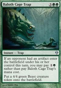 Baloth Cage Trap - Zendikar
