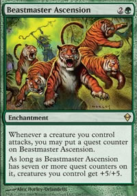 Beastmaster Ascension - Zendikar