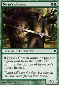 Nissa's Chosen - Zendikar
