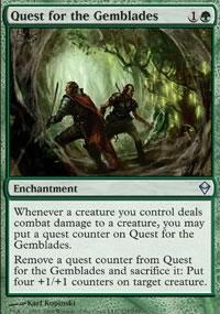 Quest for the Gemblades - Zendikar