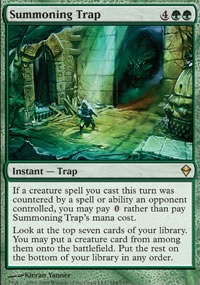 Summoning Trap - Zendikar