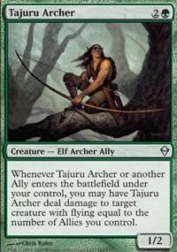 Tajuru Archer - Zendikar