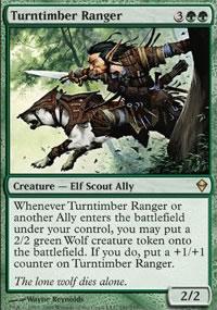 Turntimber Ranger - Zendikar