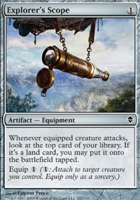 Explorer's Scope - Zendikar