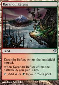 Kazandu Refuge - Zendikar