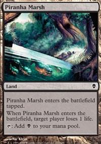 Piranha Marsh - Zendikar