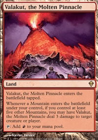 Valakut, the Molten Pinnacle - Zendikar