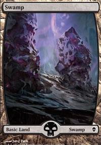 Swamp 3 - Zendikar