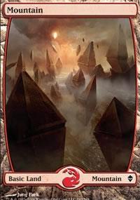 Mountain 3 - Zendikar