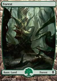 Forest 3 - Zendikar