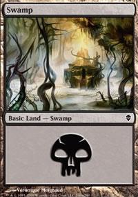 Swamp 6 - Zendikar