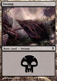 Swamp 8 - Zendikar