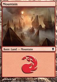 Mountain 4 - Zendikar
