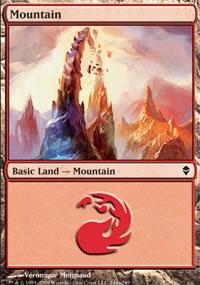 Mountain 6 - Zendikar