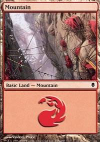 Mountain 8 - Zendikar