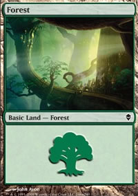 Forest 2 - Zendikar