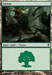Forest 4 - Zendikar