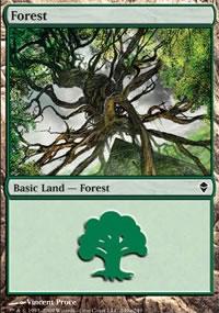 Forest 8 - Zendikar