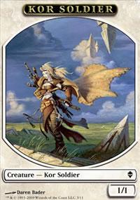 Kor Soldier - Zendikar