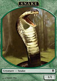 Snake - Zendikar