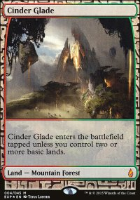 Cinder Glade - Zendikar Expeditions