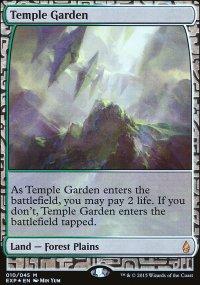 Temple Garden - Zendikar Expeditions