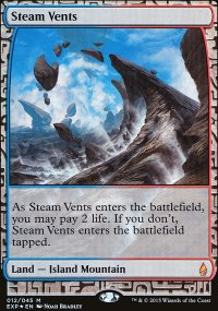 Steam Vents - Zendikar Expeditions