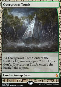 Overgrown Tomb - Zendikar Expeditions